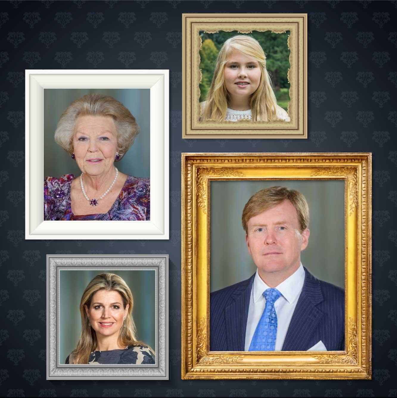 Cuadros de la familia Real
